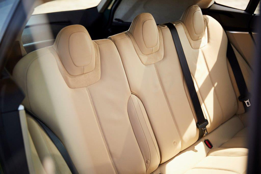 Tesla Model S Shooting Brake sièges arrière