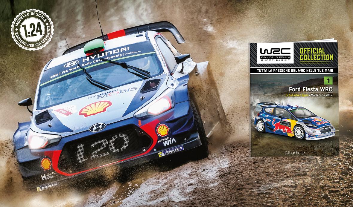 Hachette collection WRC 1/24