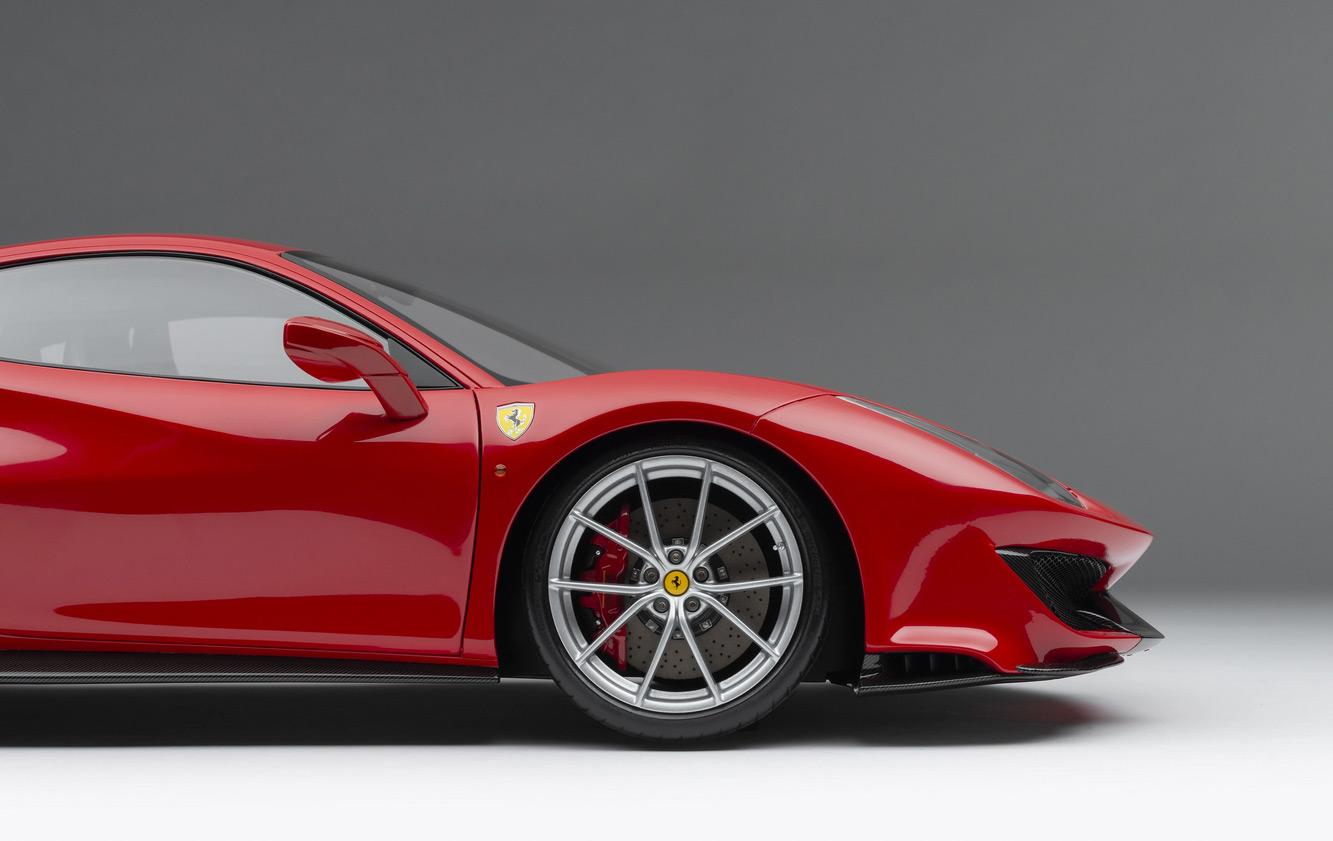 Jante au 1/8 de la Ferrari 488 Pista Amalgam