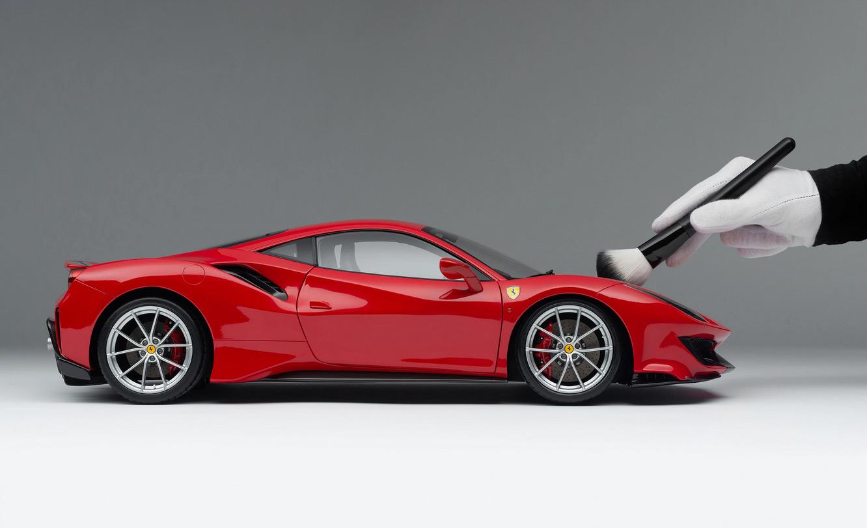 1/8 Ferrari 488 Pista Amalgam