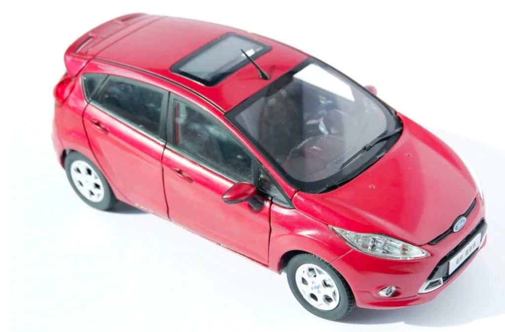 1/18 Ford Fiesta Paudi