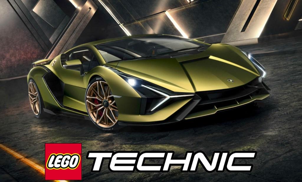 Lego 42115 Lamborghini Sian