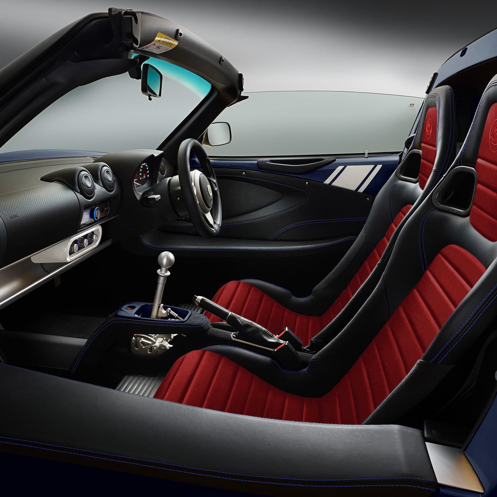 Lotus Type 18 intérieur