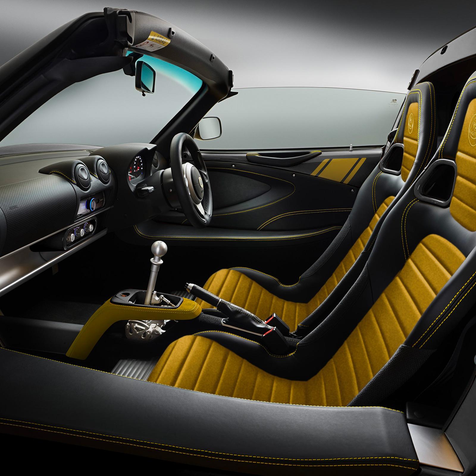 Lotus Type 72D intérieur