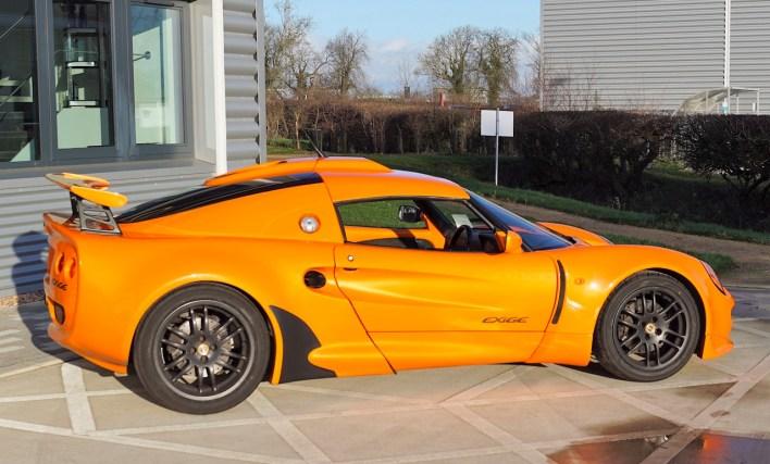 Lotus Exige S1 prix de vente