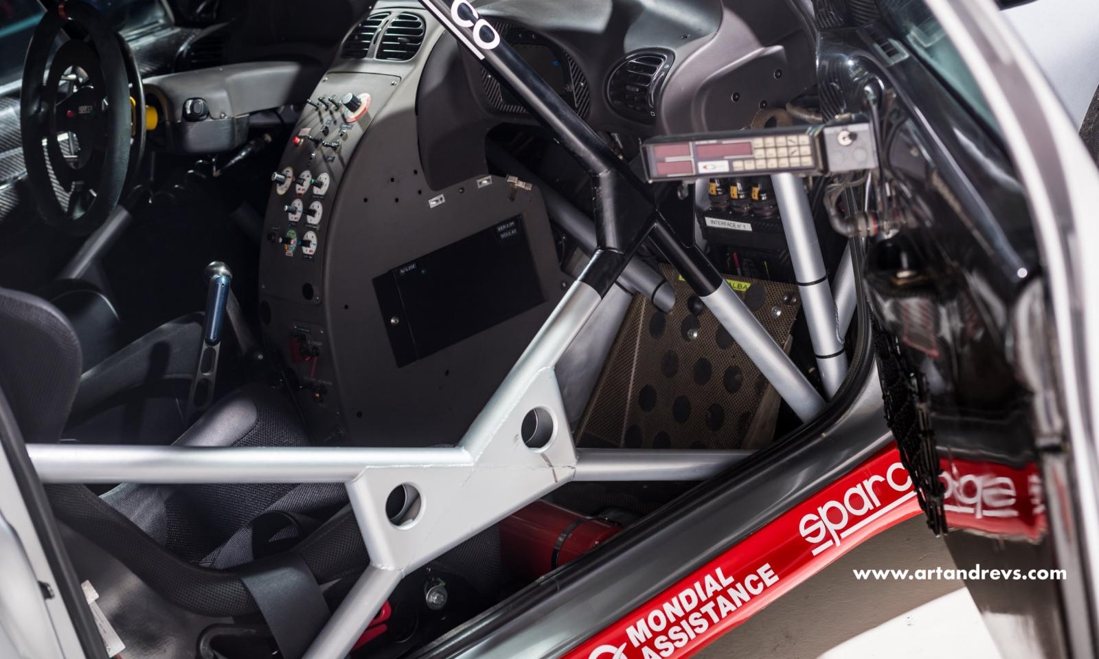 Arceau de la Peugeot 206 WRC