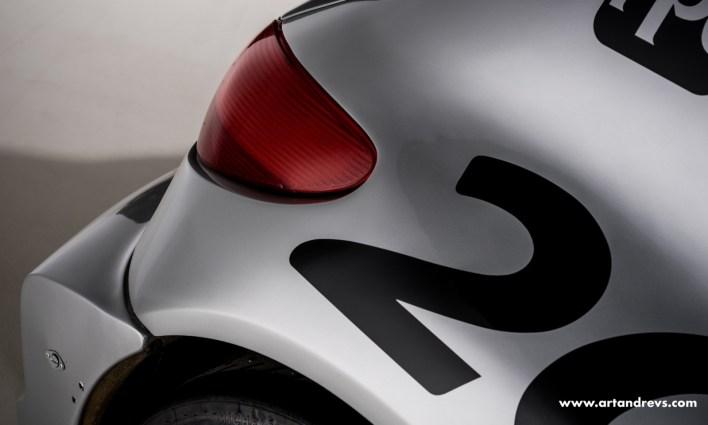 Peugeot 206 WRC arrière