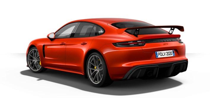 Arrière Porsche Panamera GT4