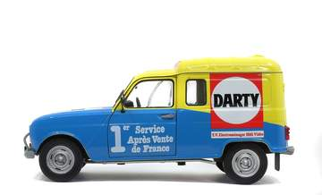 1/18 Renault 4 F4 Solido Darty