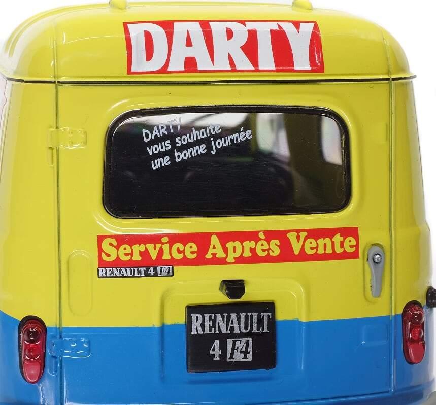 1/18 Renault 4 F4 Solido arrière