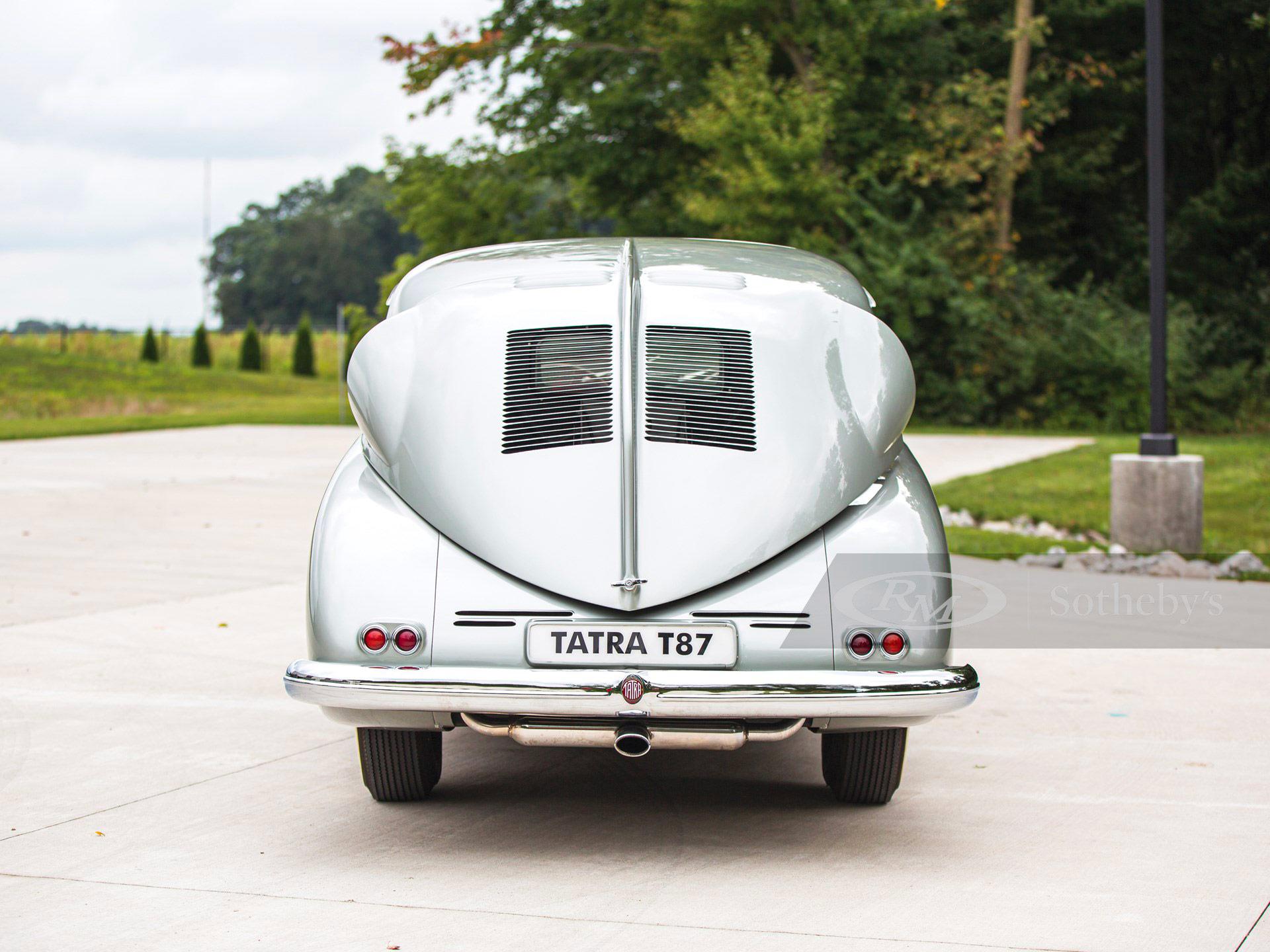 Tatra T87 partie arrière