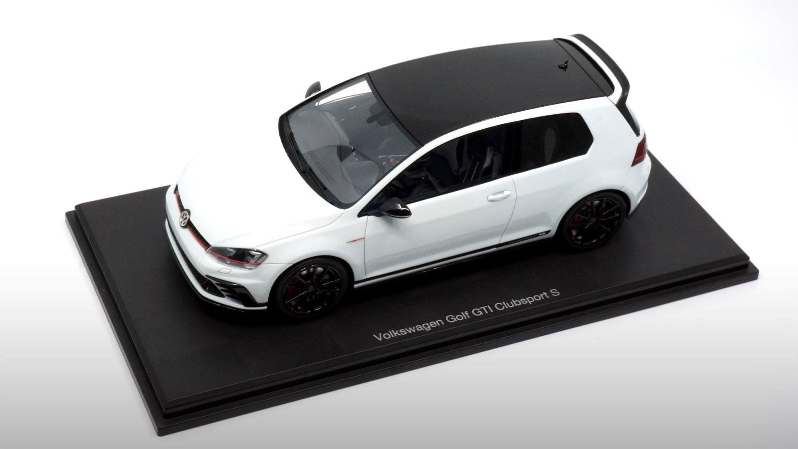 1/18 Volkswagen Golf 7 GTI Clubsport S