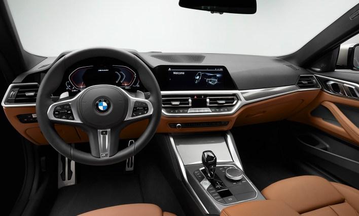2020 BMW Série 4 (F30) poste de conduite