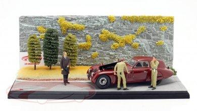Photo of 1/18 : CMC sort un diorama bluffant incluant une Alfa Romeo 8C 2900B