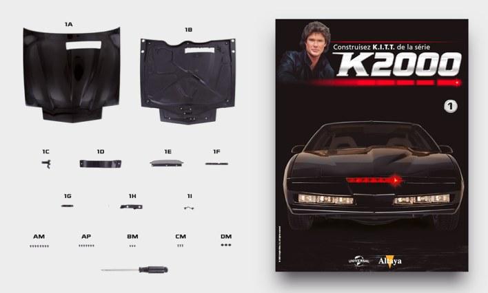 Premier numéro Construisez KITT K2000