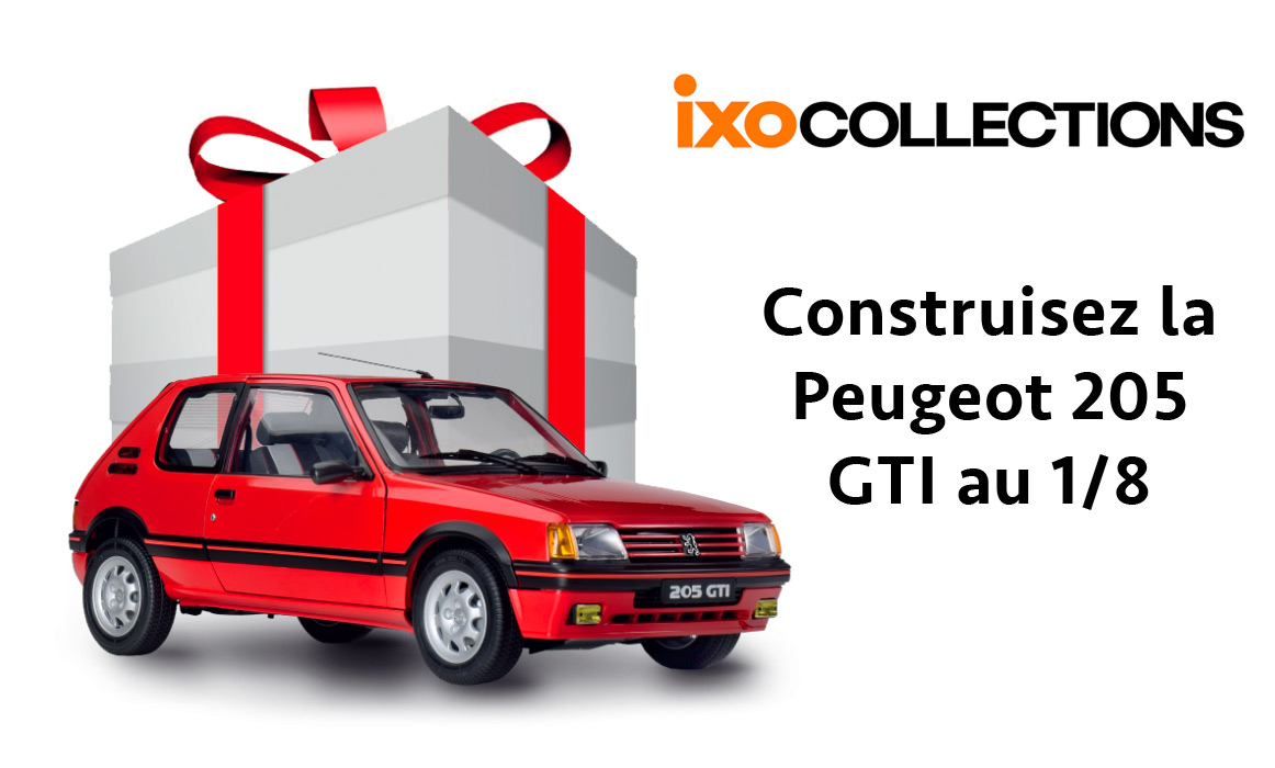 IXO Collections Peugeot 205 GTI