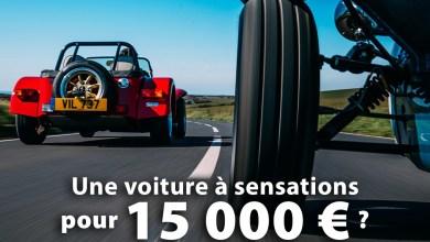 Voiture à sensations pour 15 000 €