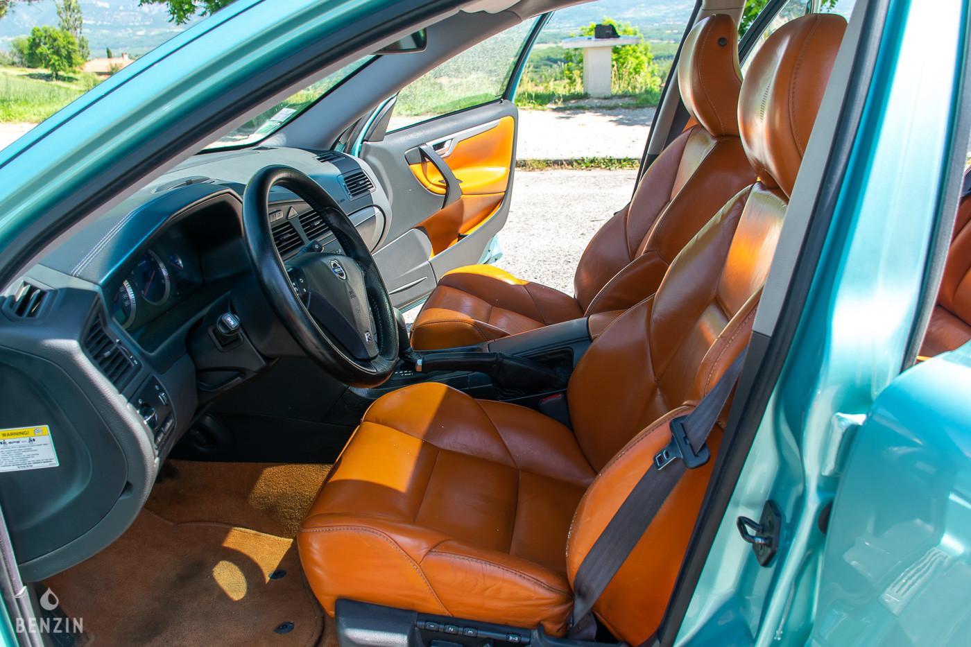 Intérieur de Volvo S60 R