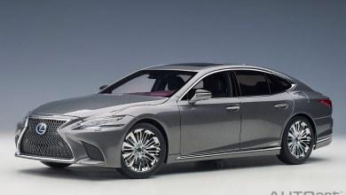 Photo de 1/18 : Un nouveau coloris atypique pour la Lexus LS 500h AUTOart