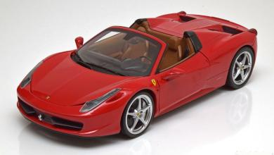 Photo de 1/18 : La Ferrari 458 Spider de Hot Wheels à 29,95 €