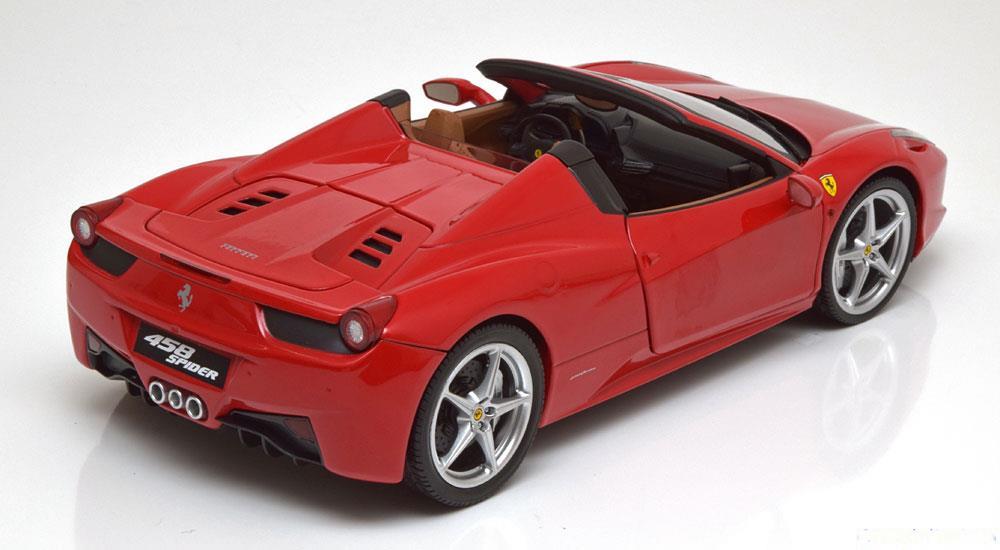 1/18 Ferrari 458 Spider Hot Wheels