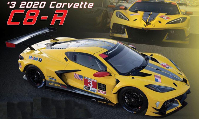 1/18 Corvette C8-R diecast