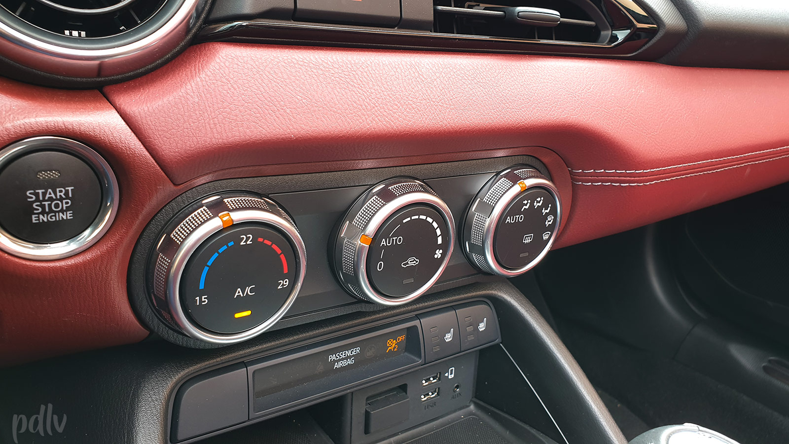 Commandes de climatisation Mazda MX-5 ND
