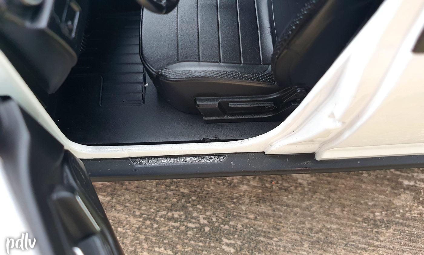 Seuils de porte du Dacia Duster Solido