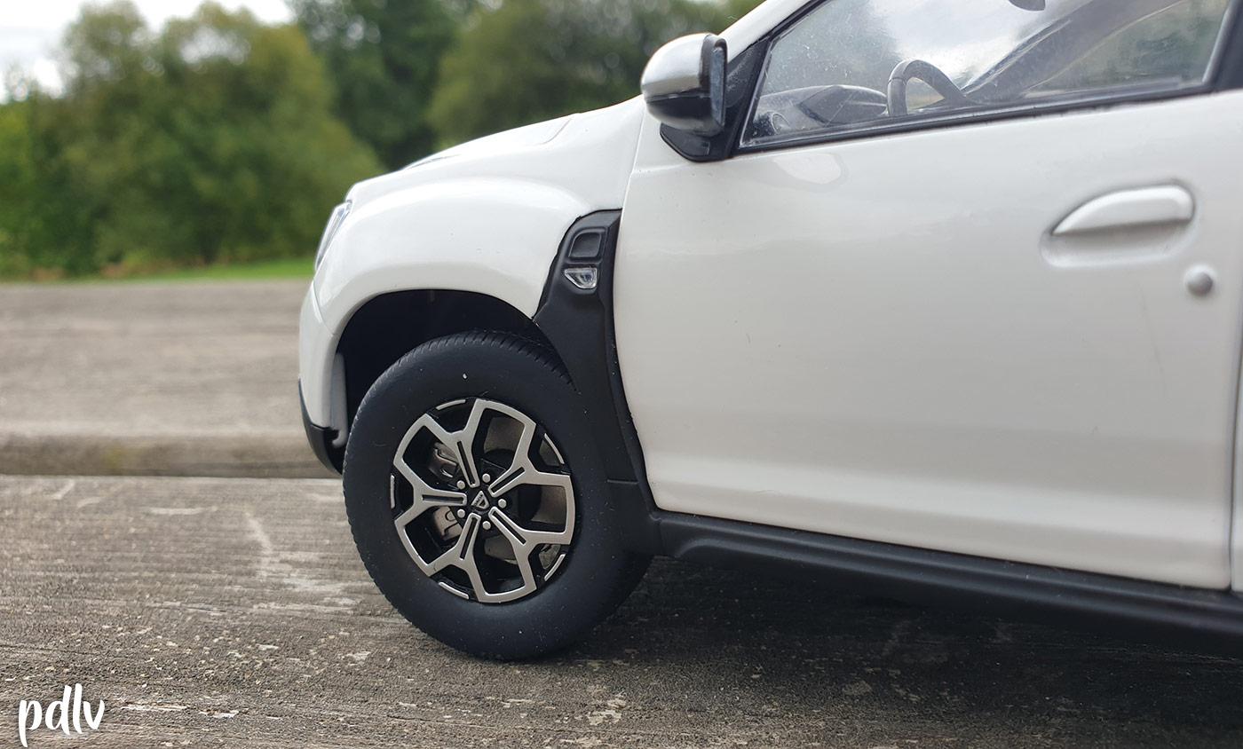 Jantes du Dacia Duster Solido