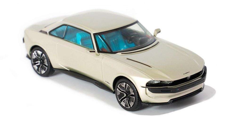 1/43 Peugeot e-Legend Concept VOXxi9