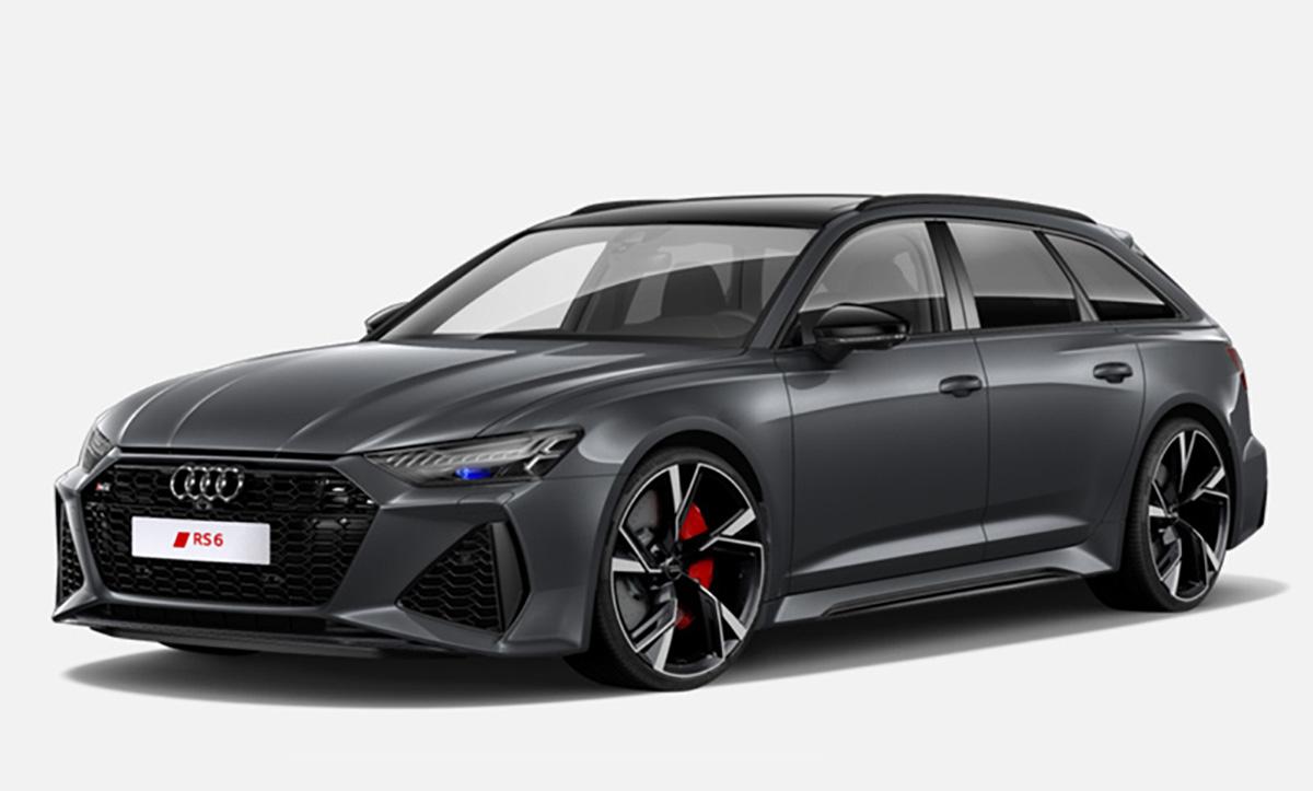 GT289 Audi RS 6 Avant 2020 1/18