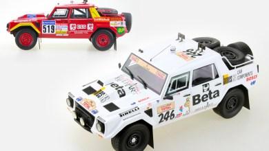 Photo de 1/18 : Les Lamborghini LM002 du Paris Dakar 1988 se dévoilent