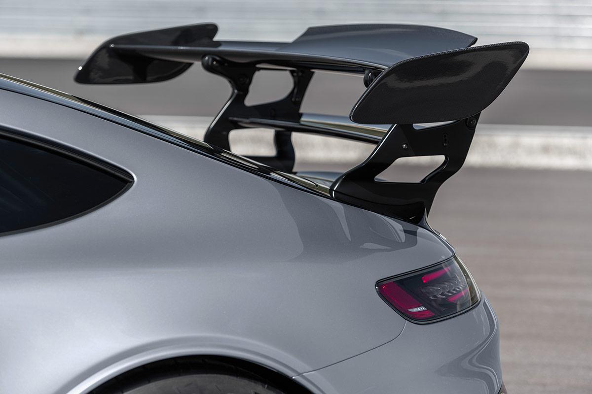 Aileron de la Mercedes AMG GT Black Series