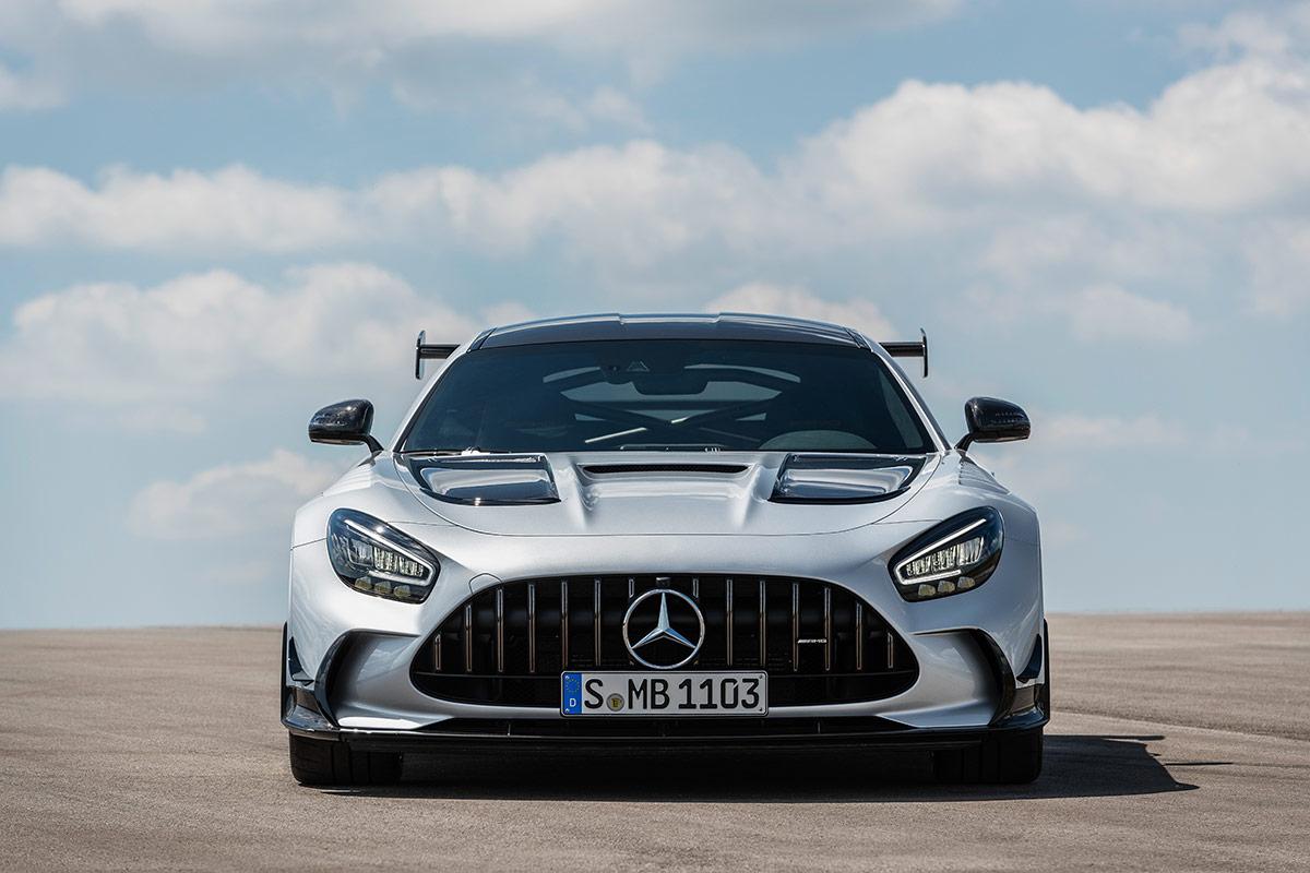 Calandre de la Mercedes AMG GT Black Series