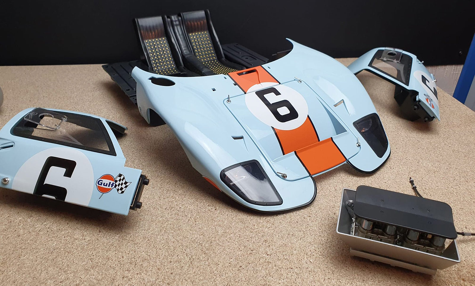 Montage Ford GT 40 Altaya