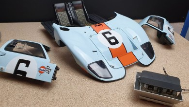 Photo of 1/8 : La Ford GT 40 d'Altaya prend forme !