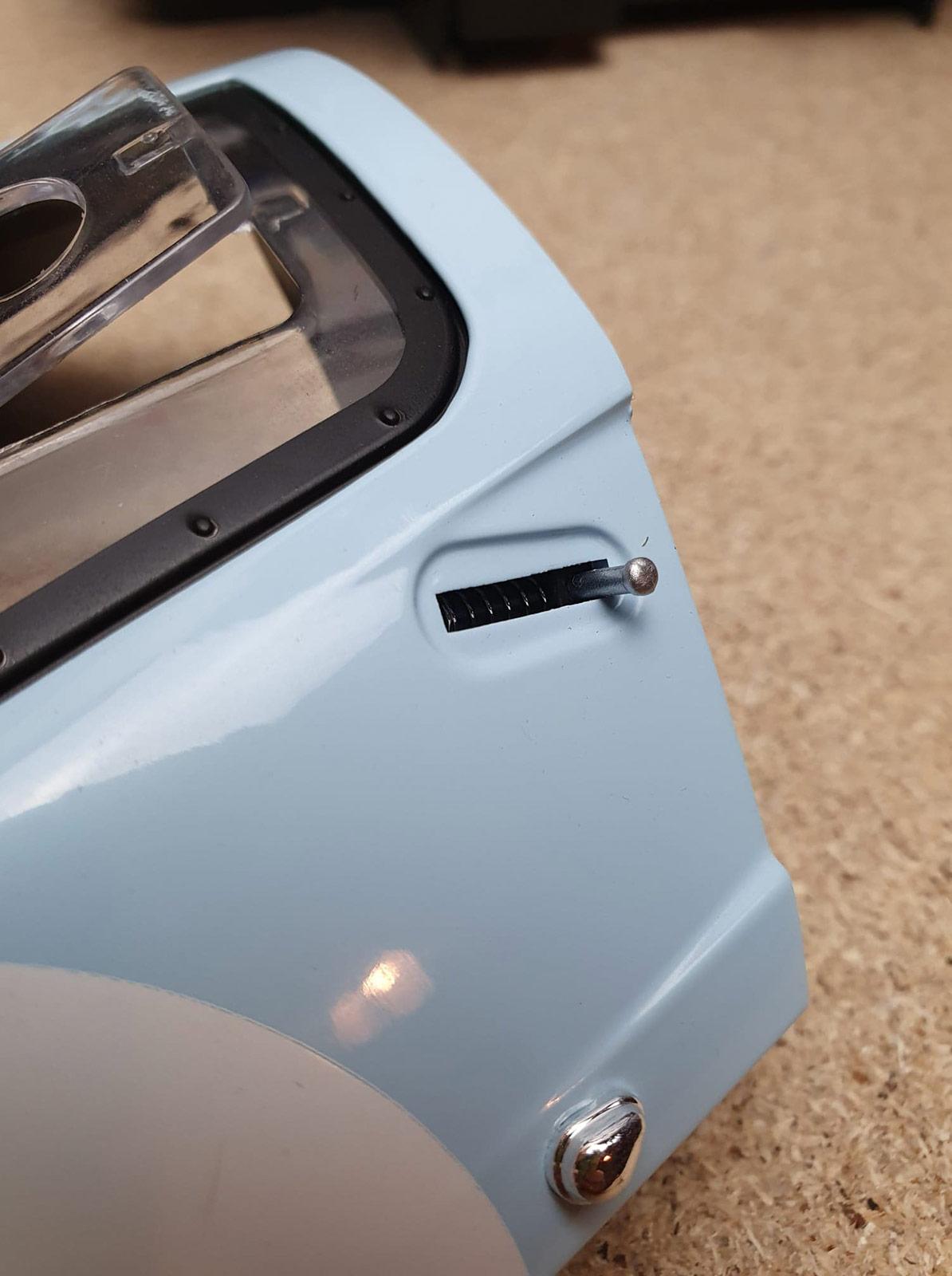 Porte système ouverture Ford GT Altaya