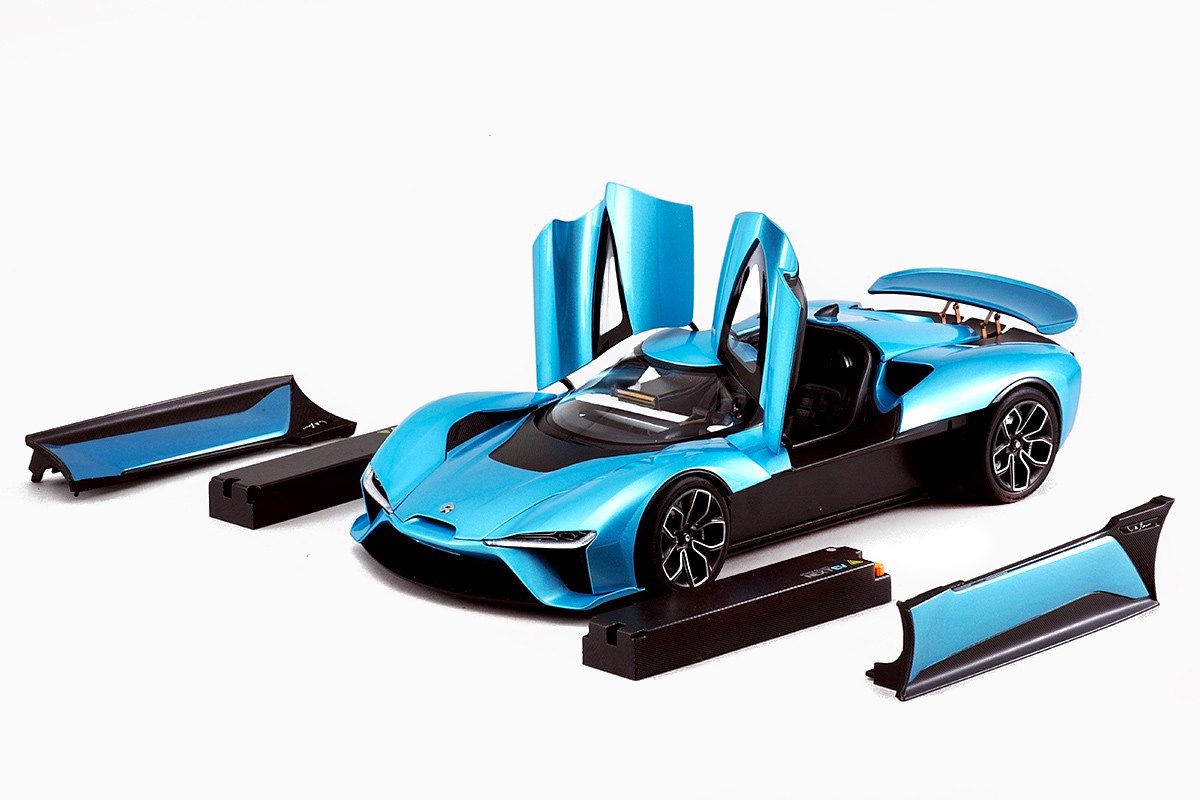 1/18 NIO EP9 Almost Real Models ouvrants