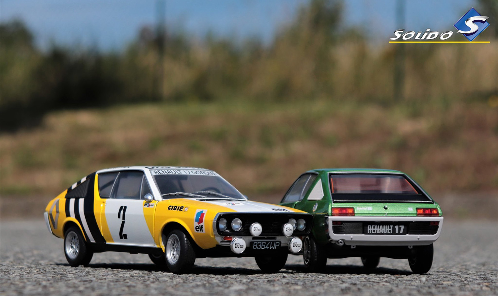 1/18 Renault 17 Solido