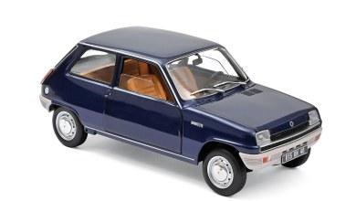 Photo of 1/18 : La Renault 5 TL de Norev se décline en bleu métallisé