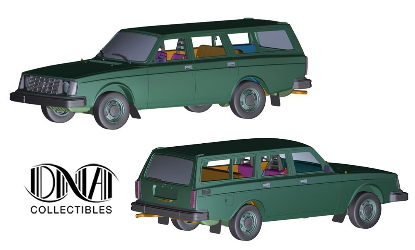 1/18 Volvo 245 DL DNA Collectibles