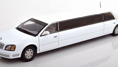 Photo of 1/18 : La Cadillac DeVille limousine de SunStar à petit prix