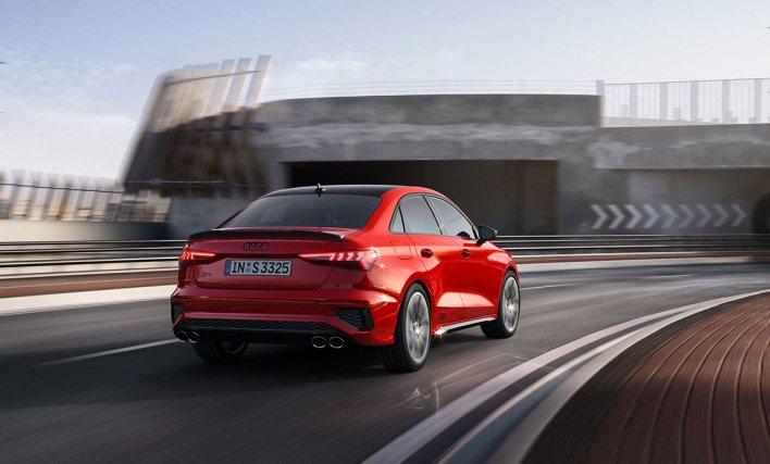 Arrière Audi S3 berline