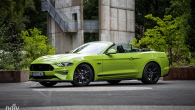 Essai Ford Mustang 55th