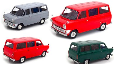 Photo de 1/18 : KK-Scale va sortir le Ford Transit mk1 de 1965