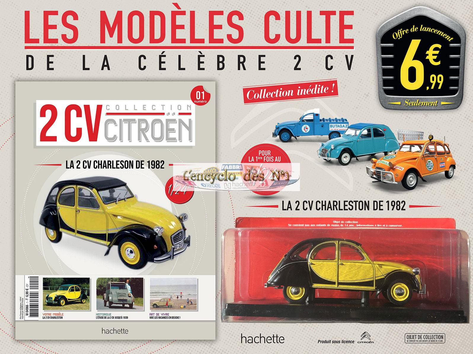 Hachette collection 2CV