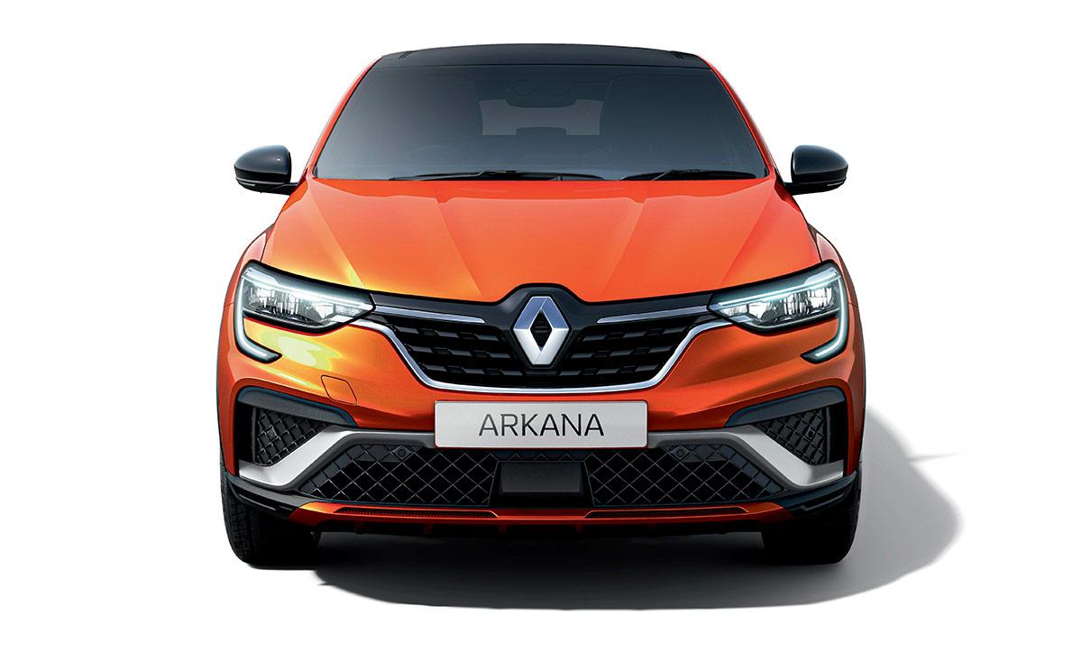 Avant Renault Arkana R.S. Line