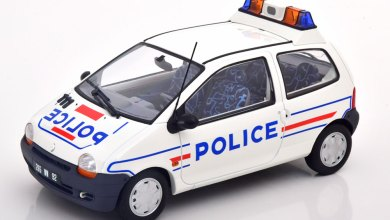 Photo de 1/18 : La Renault Twingo Police de Norev est disponible