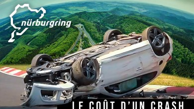 Photo de Voilà le prix d'un crash sur le Nürburgring
