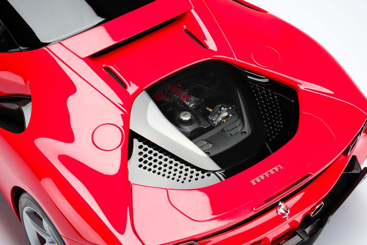 Moteur Ferrari F90 Stradale 1/8